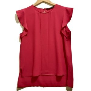 Zara Hot Pink Blouse